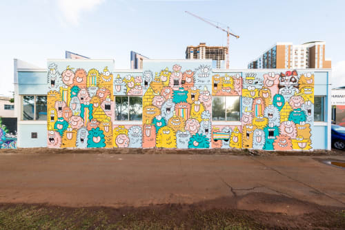 Kevin Lyons - Street Murals and Murals