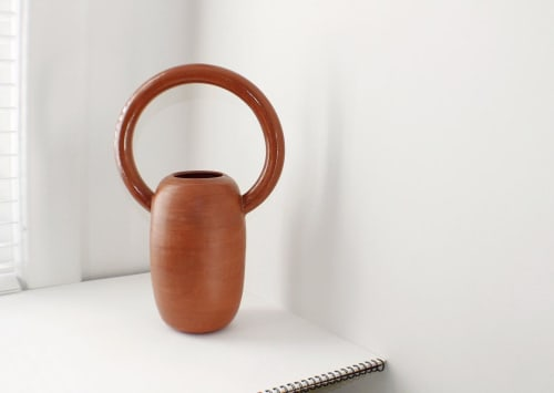 Vases & Vessels by Eny Lee Parker seen at Private Residence, Savannah - Terracotta Vase