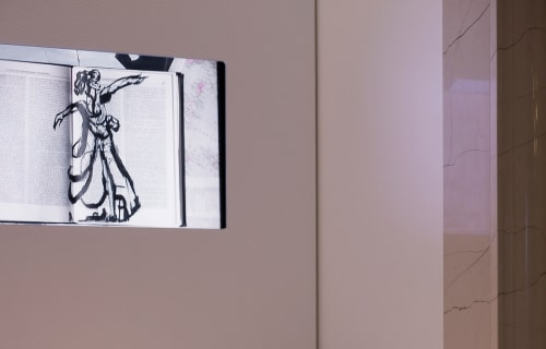 Tiles by William Kentridge seen at The Surrey, New York - Untiltled (Video Installation)