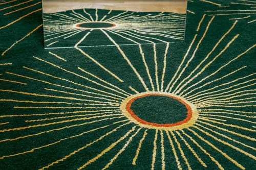 Rugs by Atelier Février seen at The Future Perfect, San Francisco - Surya Rug