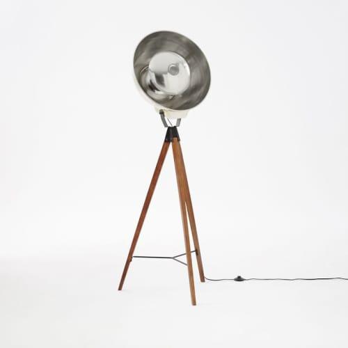 Lighting by West Elm seen at JW Marriott Essex House New York, New York - Studio Tripod Floor Lamp