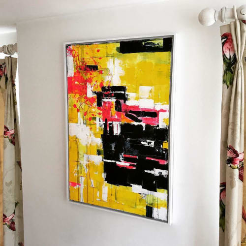 Paintings by Boo Compton seen at Private Residence, Woodbridge - Luminosity