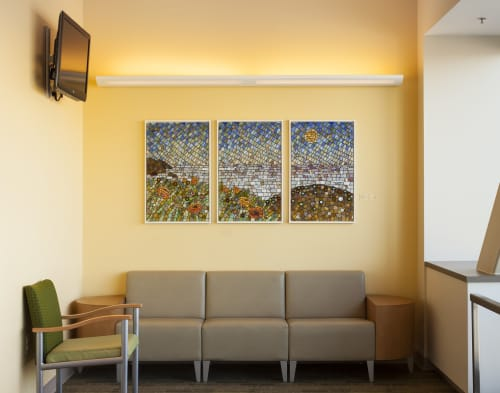 Interior Design by Wyss Design seen at Kaiser Permanente Oakland Medical Center, Oakland - Sonoma Coast
