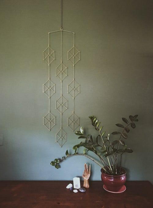 Art & Wall Decor by Beth Naumann seen at Private Residence, Emeryville - 9 Cubes Mobile