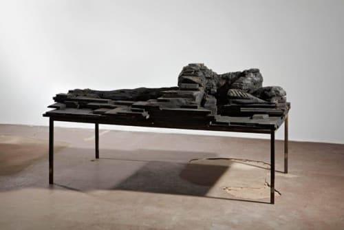 Sculptures by Laura Eckert seen at Leipzig, Leipzig - Signs of Sleep Sculpture