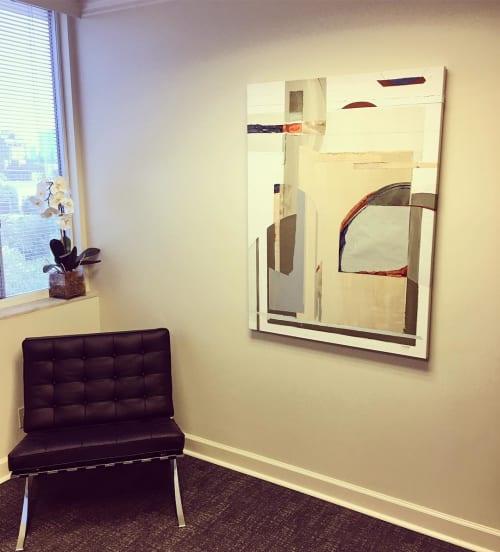 Paintings by Kerry Hays at Blanchard Real Estate, Atlanta - Dawn of Creation