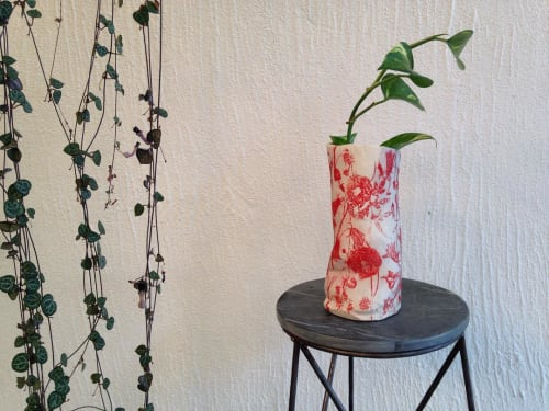 Vases & Vessels by Sarana Haeata seen at Private Residence, Perth - Slumpy Small Girl Vase