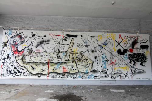 Spencer Keeton Cunningham - Street Murals and Public Art