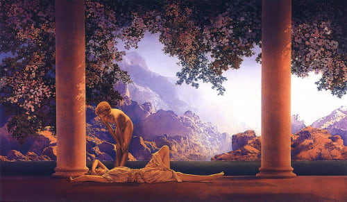 Maxfield Parrish - Paintings and Art