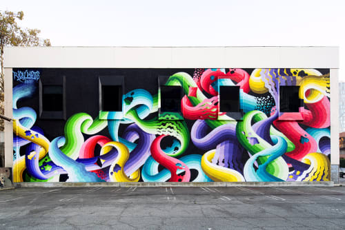 Street Murals by Ricky Watts seen at 45 N 1st St San Jose, CA 95113, San Jose - POW!WOW! San Jose 2017