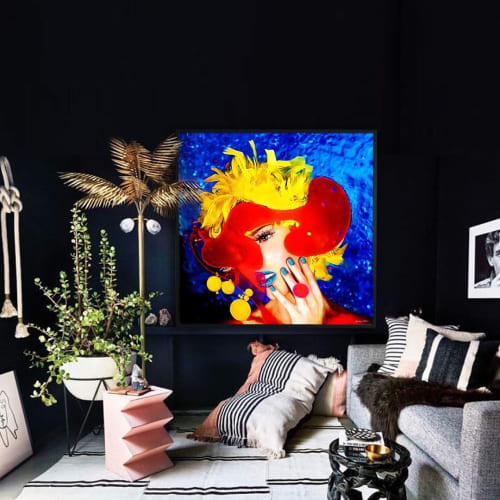Paintings by Giuliano Bekor seen at Private Residence, Beverly Hills - Emulsion Series