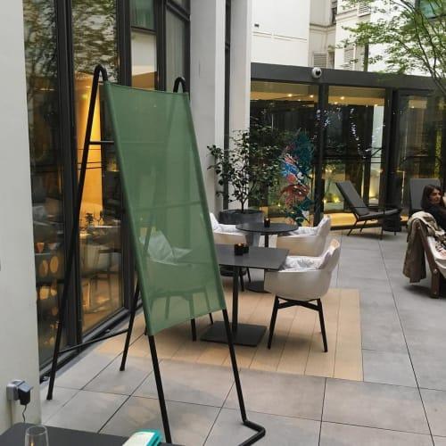 Furniture by Pierre-Emmanuel Vandeputte seen at Hotel Le Cinq Codet, Paris - Paradosso