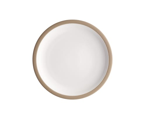 Ceramic Plates by Heath Ceramics seen at Tartine Manufactory, San Francisco - Rim Line Plates