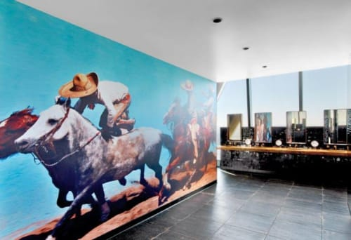 Art & Wall Decor by Hugh Sitton seen at InterContinental Los Angeles Downtown, Los Angeles - Cowboys and Horses
