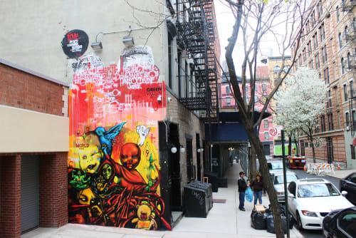 Ivan Petrovsky - Street Murals and Public Art
