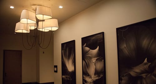 Pendants by Herve Langlais seen at Kimpton La Peer Hotel, West Hollywood - The Grand Nuage