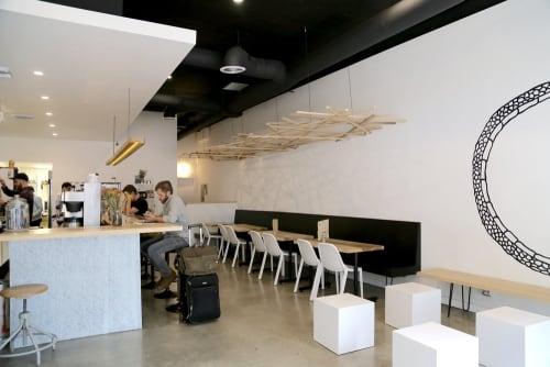 Mega Bodega, Cafès, Interior Design