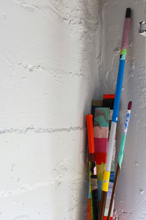 Paintings by Leah Rosenberg at The Progress, San Francisco - Paint Sticks