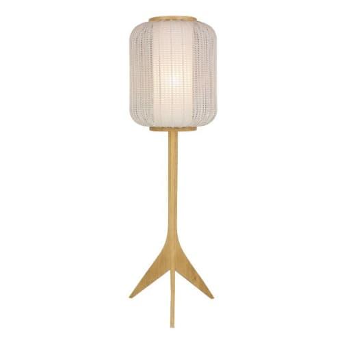 Lamps by Valditaro seen at BOTACA, Lisboa - Crochet Lamp