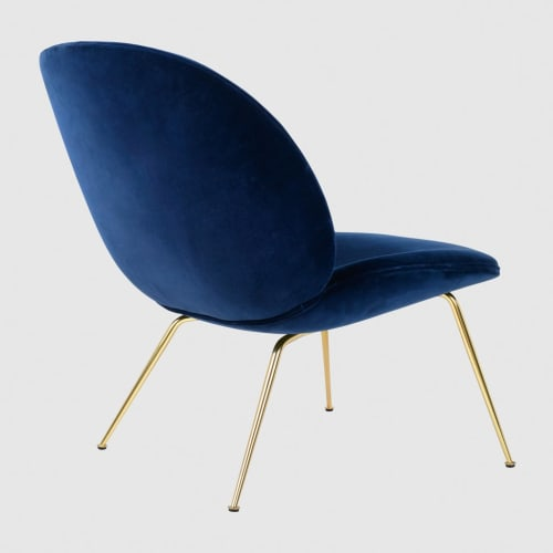 Chairs by GamFratesi of Hem at The William Vale, Brooklyn - Beetle Lounge Chair