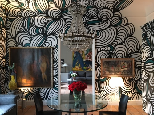 Murals by KEF! at Private Residence, Frankfurt - Interior Painting