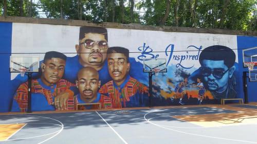 Andre Trenier - Street Murals and Public Art