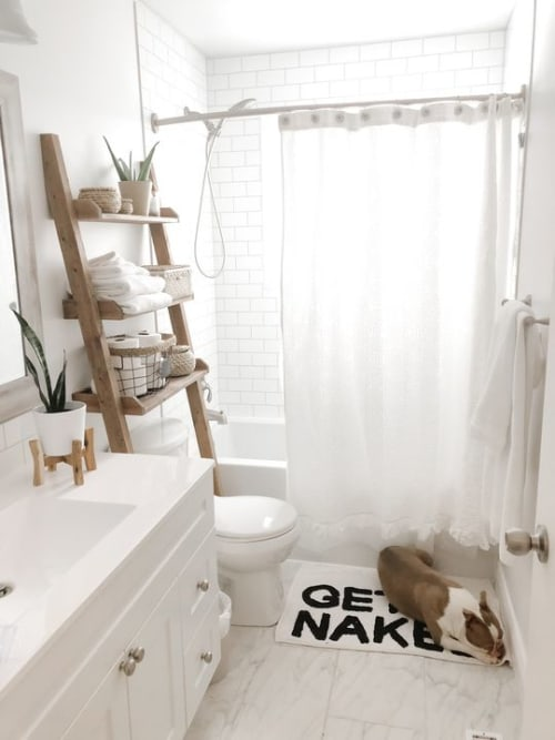 Tiles by Home Hardware seen at Chantelle Lourens' Home - Bathroom Tiles