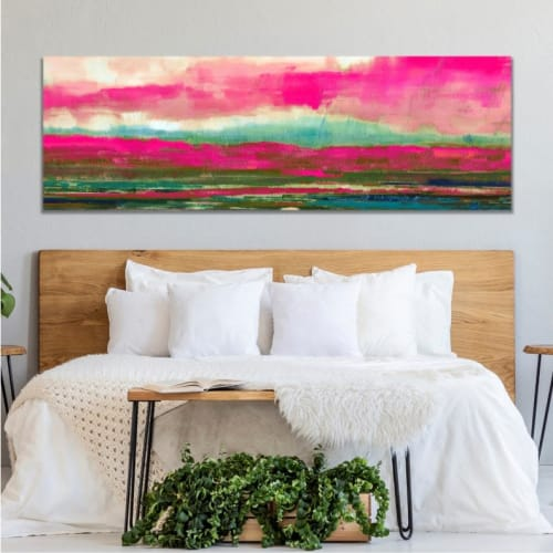 Paintings by Debby Neal Arts seen at Private Residence, Seattle - The Pink One