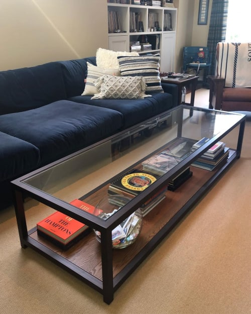 Tables by Toronto Workshop seen at Private Residence, Southampton - Coffee Table