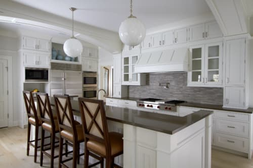 Interior Design by Vicente-Burin Architects seen at Private Residence, Westport - Architectural Design - Shingle Style