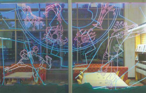Art & Wall Decor by Nancy Mizuno Elliott seen at Castro Valley Library, Castro Valley - Teen Room