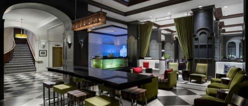Warwick Allerton - Chicago, Hotels, Interior Design