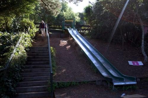 Esmeralda Slide Park, Urban Canvases, Interior Design