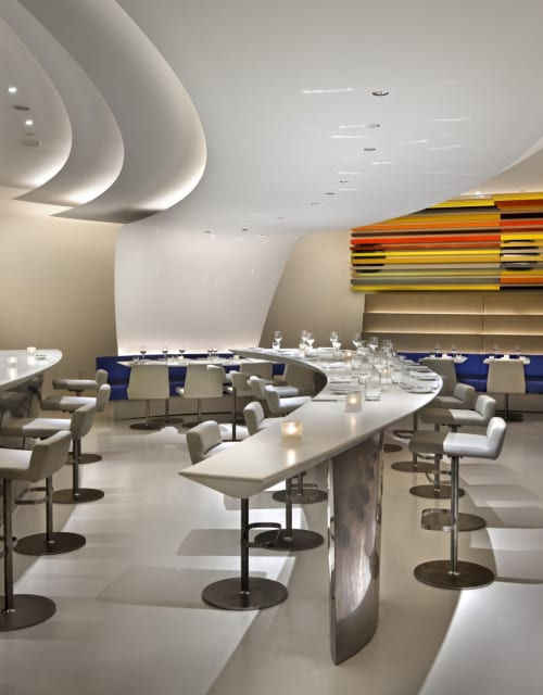 Chairs by Andre Kikoski Architect seen at The Wright, New York - Bespoke Chairs