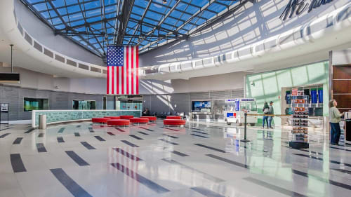 Philadelphia International Airport, Public Service Centers, Interior Design
