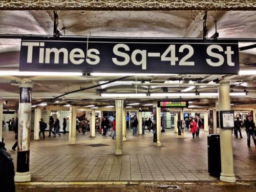 Times Square-42nd Street, Public Service Centers, Interior Design