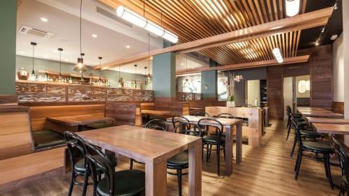 Mason Pacific, Restaurants, Interior Design