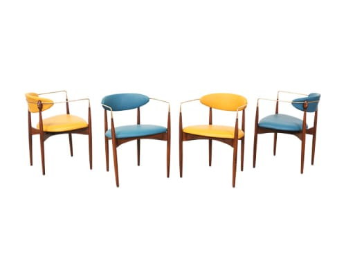 Chairs by Dan Johnson seen at Viviane, Beverly Hills - Viscount