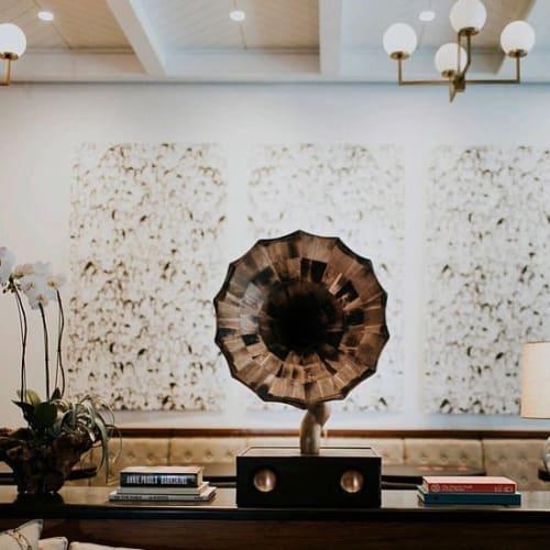 Furniture by Jordan Waraksa seen at Kimpton Journeyman Hotel, Milwaukee - Bellaphone No. 9