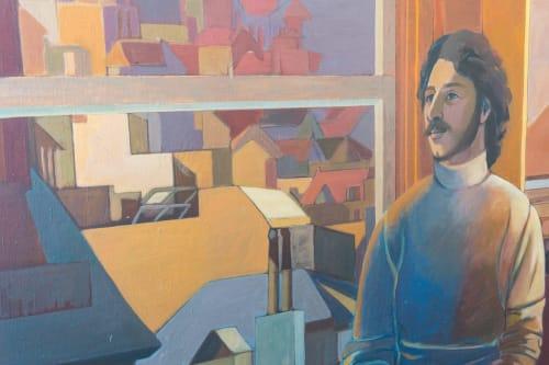 Elaine Badgley Aarnaux (Elaine Badgley Arnoux) - Paintings and Art
