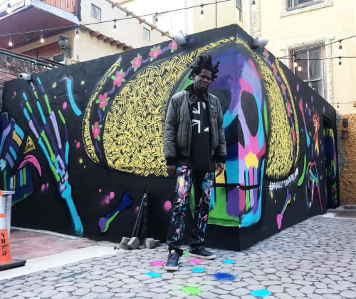 Bradley Theodore - Murals and Art