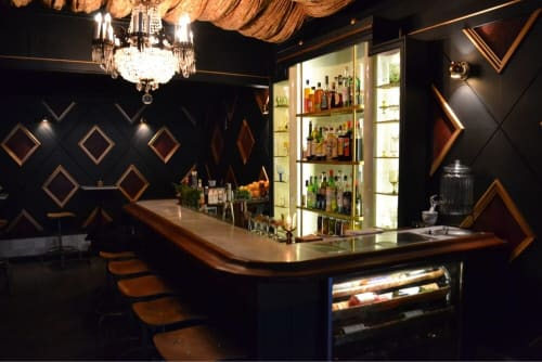 Oddjob, Bars, Interior Design