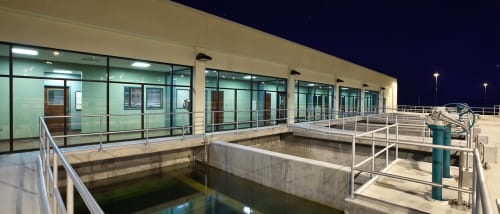 Westside Water Treatment Plant for City of Fort Worth, Offices, Interior Design