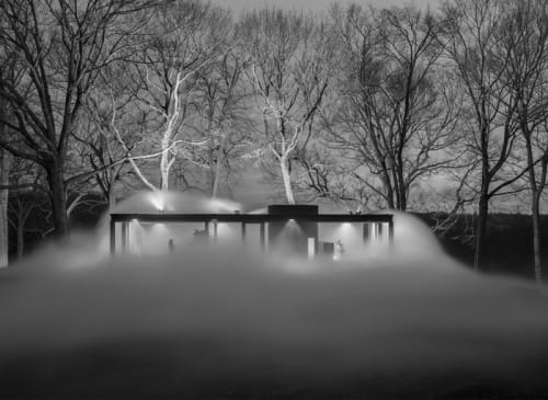 Photography by Richard Barnes at Williamson Residence, Williamson - Fog #2