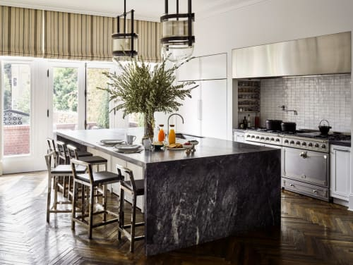 Chairs by Jessica Marx of J. Marx Atelier seen at Private Residence, San Francisco, CA, San Francisco - Frame Counter Stool