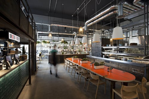 Pendants by The Circus Collection seen at DF Tacos, London - Medium Circus Pendants