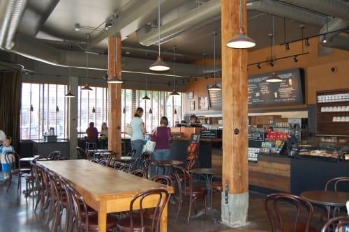 Starbucks, Delancey Street, Cafès, Interior Design