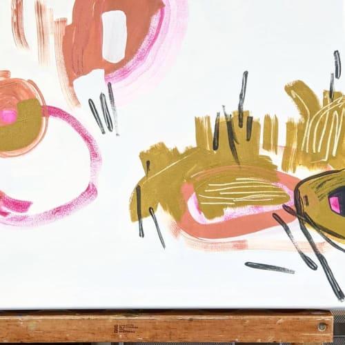 Paintings by Anne Abueva Studio - Pink Bayou