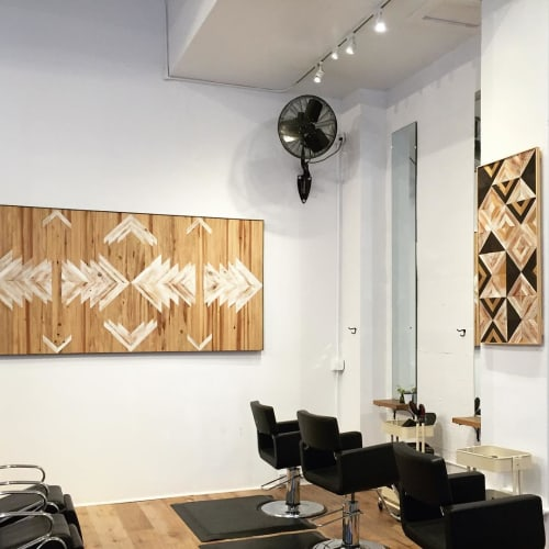 Wall Hangings by Nicole Sweeney seen at Edo Salon, San Francisco - Wood Art