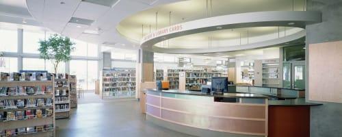 Mission Bay Branch Library, Public Service Centers, Interior Design